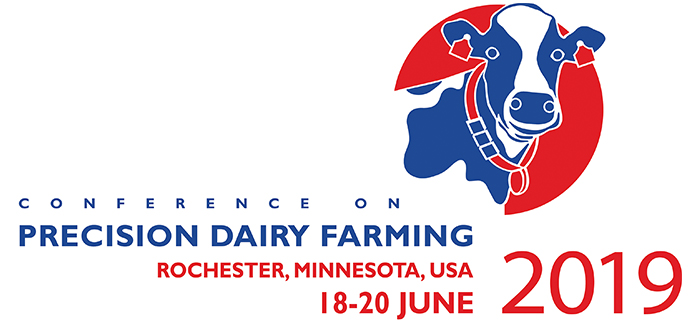 Conference on PrecisionDairyfarming 2019, Rochester Minnesota: 18-20 June